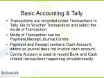basic accounting tally15