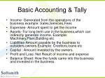 basic accounting tally3