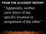 from the accident report20
