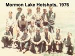 mormon lake hotshots 1976