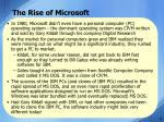 the rise of microsoft