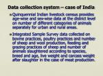 data collection system case of india9