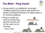 the mold plug assist