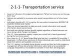 2 1 1 transportation service