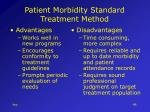 patient morbidity standard treatment method48