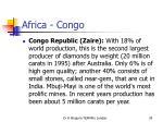 africa congo