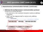 usci operation uart mode 6 17