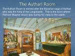 the authari room