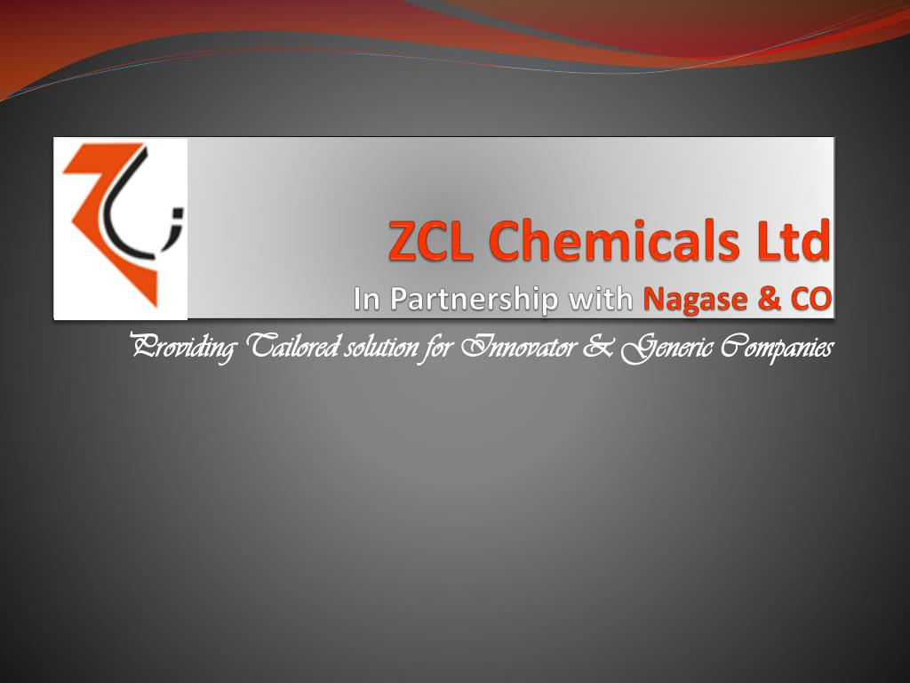 zcl chemicals ltd in partnership with nagase co l.