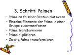 3 schritt palmen