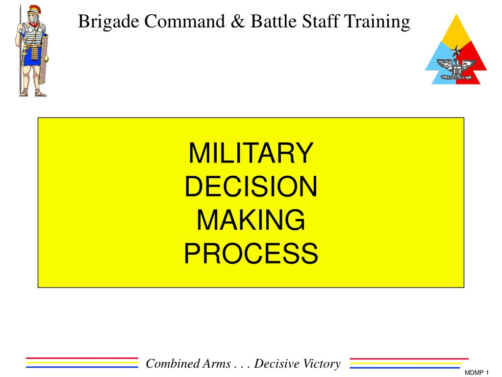 military decision making process l.