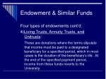 endowment similar funds26