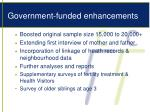 government funded enhancements