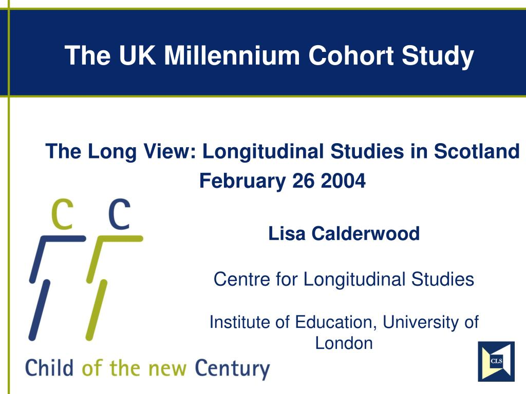 the uk millennium cohort study l.