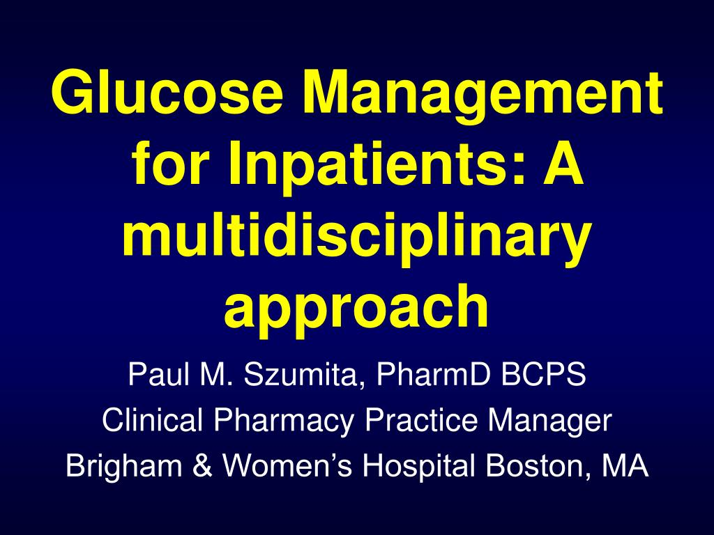 paul m szumita pharmd bcps clinical pharmacy practice manager brigham women s hospital boston ma l.