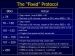 the fixed protocol