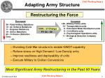 adapting army structure7