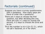 factorials continued16