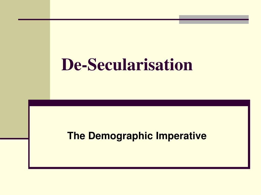 de secularisation l.