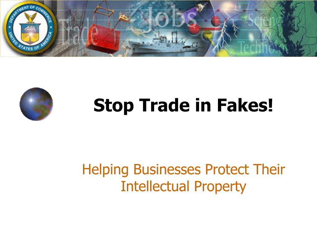 stop trade in fakes l.
