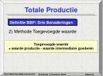 totale productie14