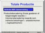 totale productie21