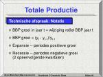 totale productie31