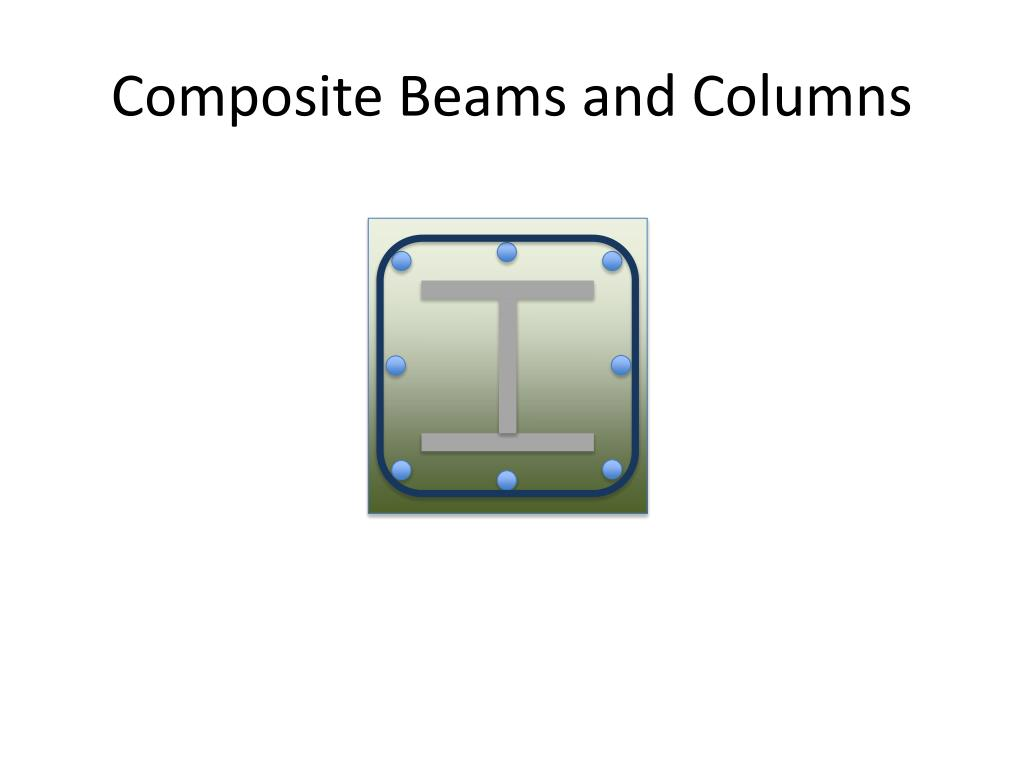 composite beams and columns l.