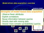 model driven data acquisition overview