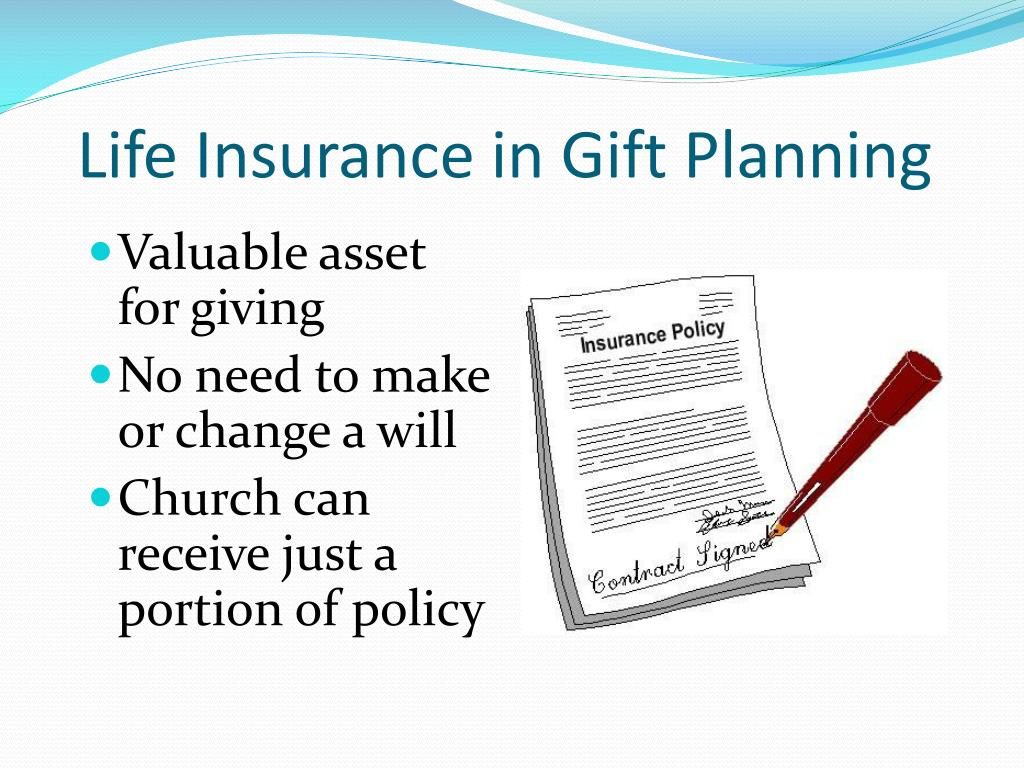 Life Insurance in Gift Planning