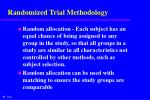 randomized trial methodology