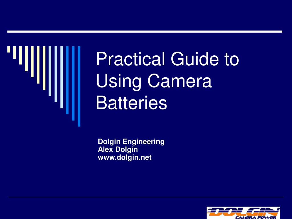 practical guide to using camera batteries l.