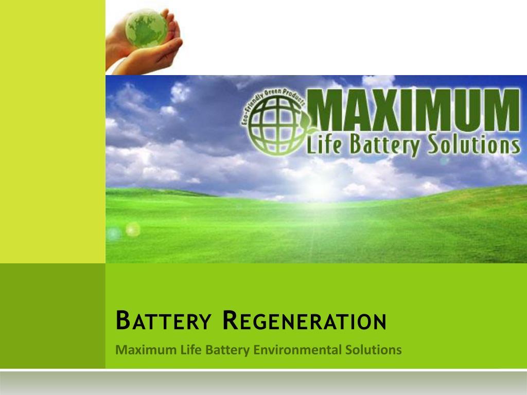battery regeneration l.