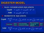 digester model
