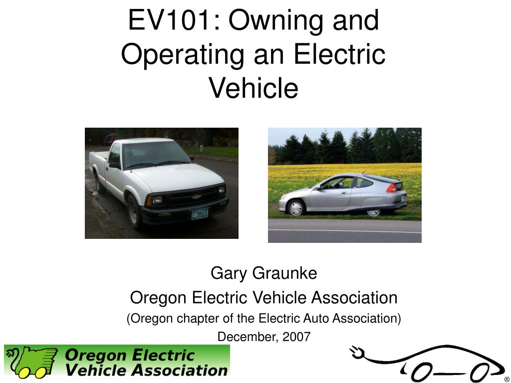ev101 owning and operating an electric vehicle l.