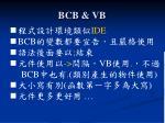bcb vb