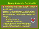 aging accounts receivable