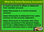 what are contra revenue accounts
