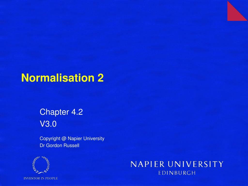 normalisation 2 l.