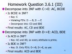 homework question 3 6 1 iii