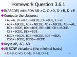 homework question 3 6 1