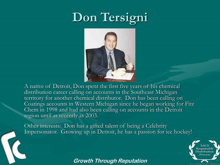 Don tersigni3
