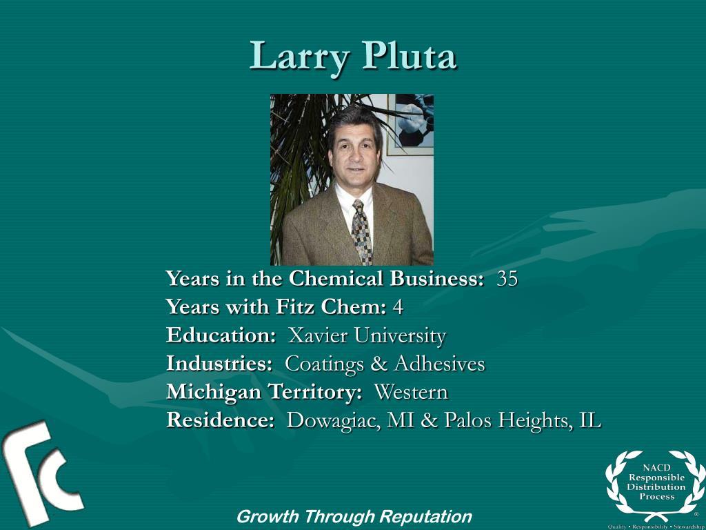 Larry Pluta