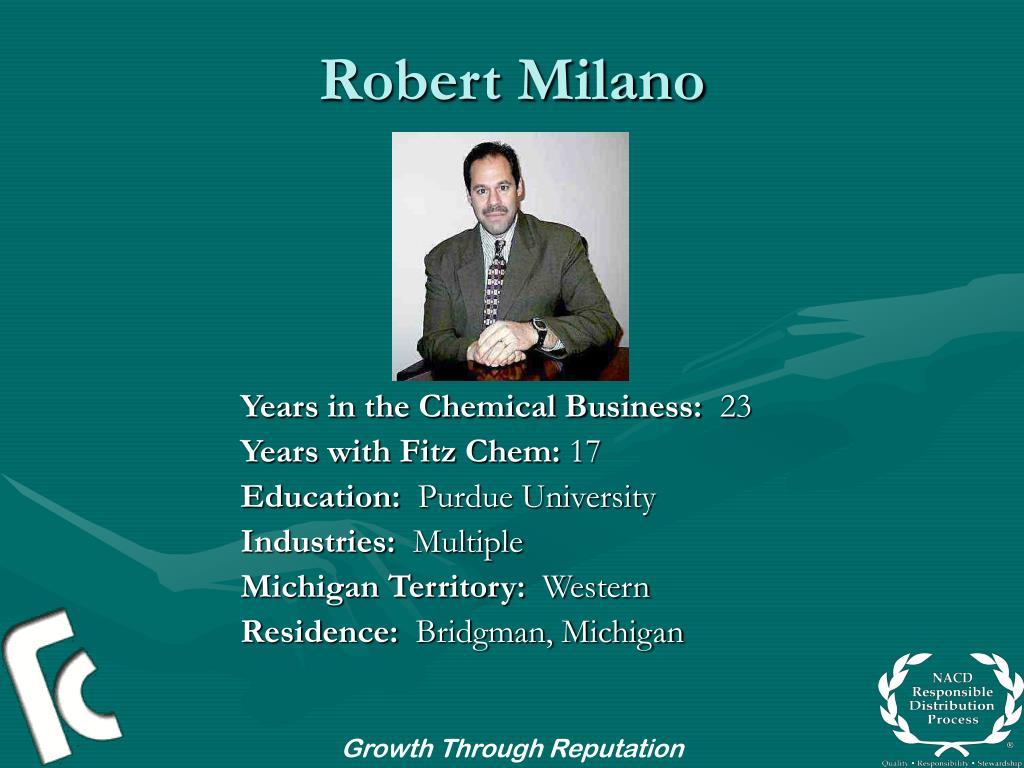 Robert Milano