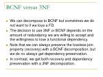 bcnf versus 3nf