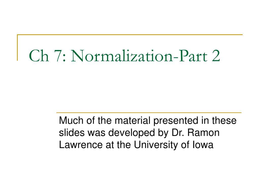 ch 7 normalization part 2 l.