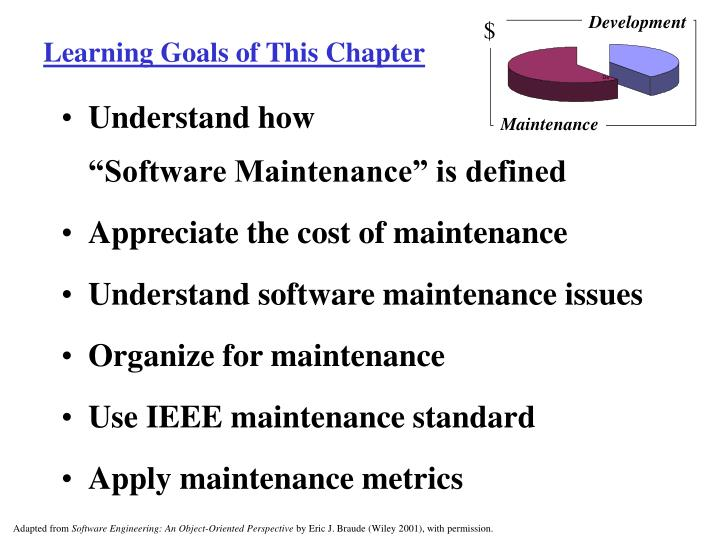 Learning goals of this chapter