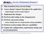 service a maintenance request 2
