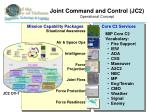joint command and control jc2 operational concept
