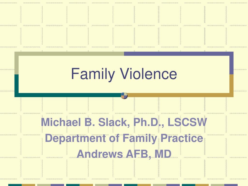 family violence l.